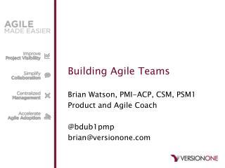 Building Agile Teams