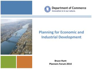 Planning for  Economic and Industrial  Development