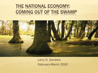the National  EconomY : coming out of the swamp