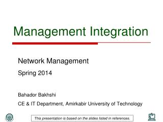 Management Integration