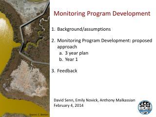 Monitoring Program Development