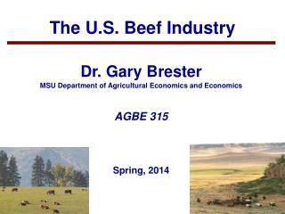 The U.S. Beef Industry