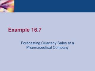 Example 16.7