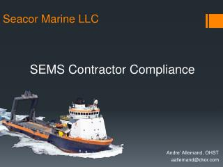 SEMS Contractor Compliance