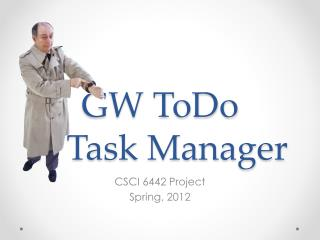 GW ToDo A Task Manager