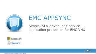 EMC APPSYNC