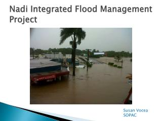 Nadi  Integrated Flood  M anagement Project