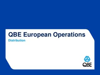 QBE European Operations Distribution
