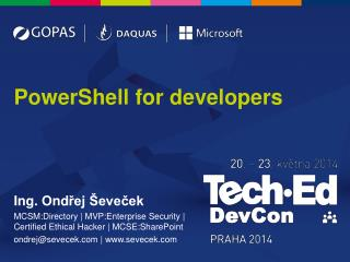 PowerShell for developers