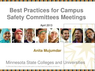Best Practices for Campus Safety Committees Meetings  April 2013