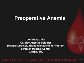 Preoperative Anemia