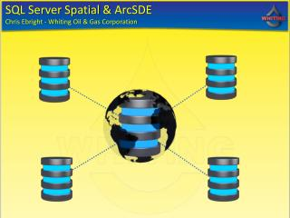 SQL Server Spatial &  ArcSDE Chris Ebright - Whiting Oil & Gas Corporation