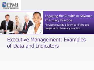 Executive Management: Examples of Data and Indicators