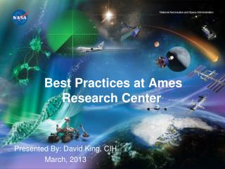 Best Practices at Ames Research Center