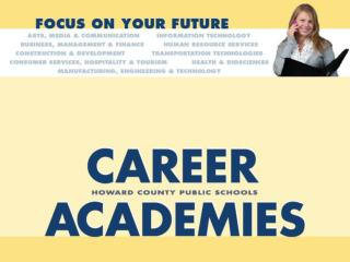 Why Join an ARL Career Academy?