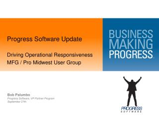 Progress Software Update