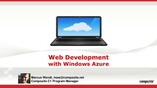 Web Development with Windows Azure