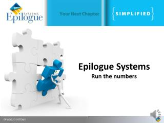 Epilogue Systems Run the numbers
