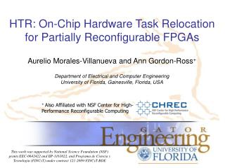 HTR: On-Chip Hardware Task Relocation for Partially Reconfigurable FPGAs