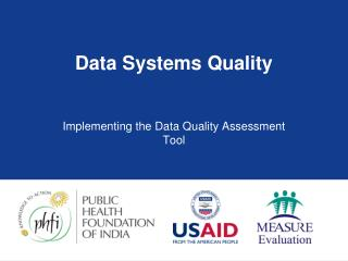 Data Systems Quality