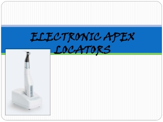 electronic apex locators