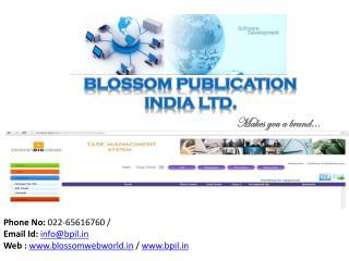 Blossom Publication India Ltd.