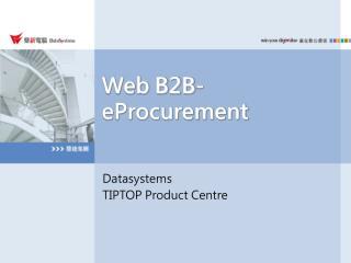 Web B2B-eProcurement
