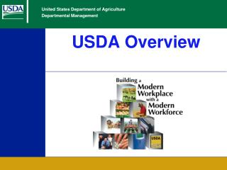 USDA Overview