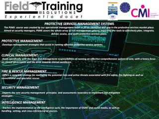 PROTECTIVE SERVICES MANAGEMENT SYSTEMS