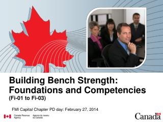 Building Bench Strength: Foundations and Competencies (Fi-01 to Fi-03)