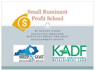 Small Ruminant  Profit School