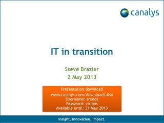 IT in transition