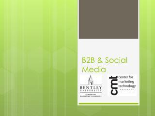 B2B & Social Media