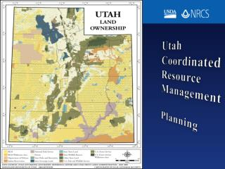 Utah Coordinated Resource Management Planning