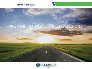 Green Fleet 2012