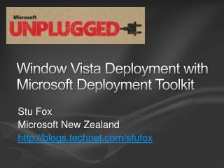 Window Vista Deployment with Microsoft  Deployment Toolkit