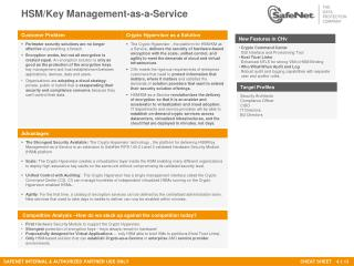 HSM/Key Management-as-a-Service