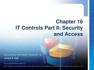 Chapter 16 IT Controls Part II: Security and Access