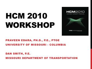 Hcm  2010  wORKSHOP