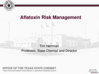 Aflatoxin  Risk Management