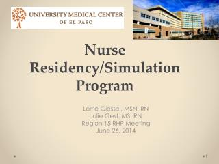 Nurse Residency/Simulation Program