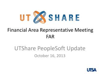 Financial Area  Representative Meeting F AR