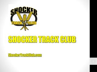 SHOCKER TRACK CLUB ShockerTrackClub.com