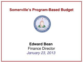 Somerville's Program-Based Budget