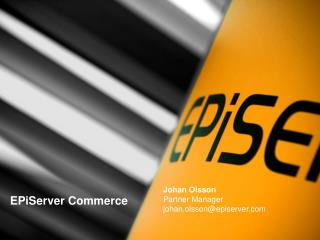 EPiServer Commerce