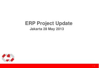 ERP Project Update