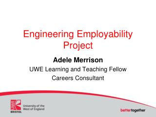 Engineering Employability Project