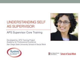 Understanding Self as supervisor