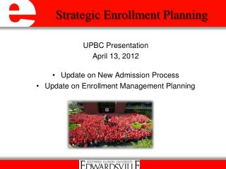 Strategic Enrollment Planning