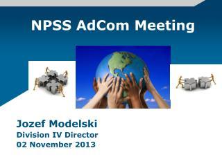 NPSS  AdCom Meeting